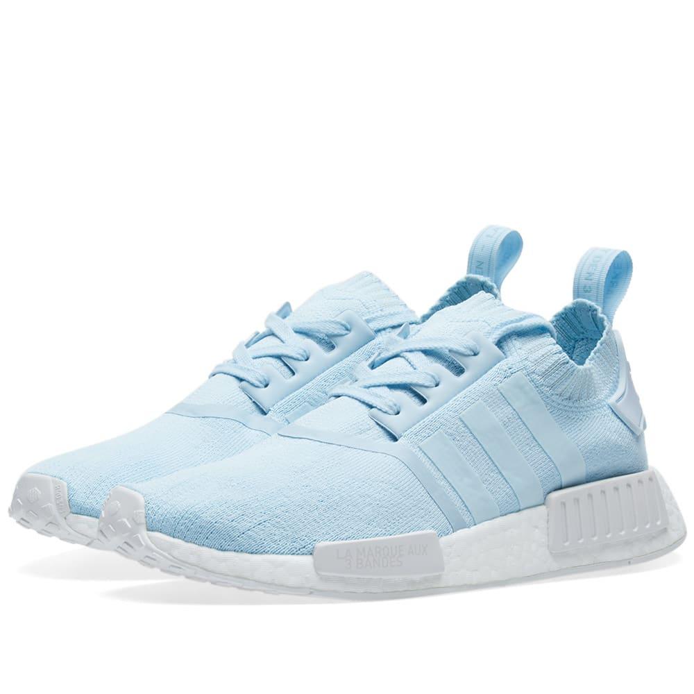 cf9c92cca Adidas NMD R1 PK W Ice Blue   White