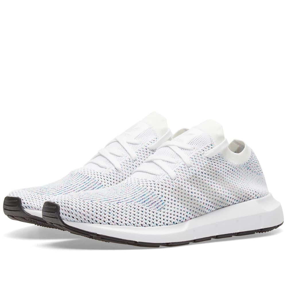Adidas Swift Run PK White \u0026 Core Black