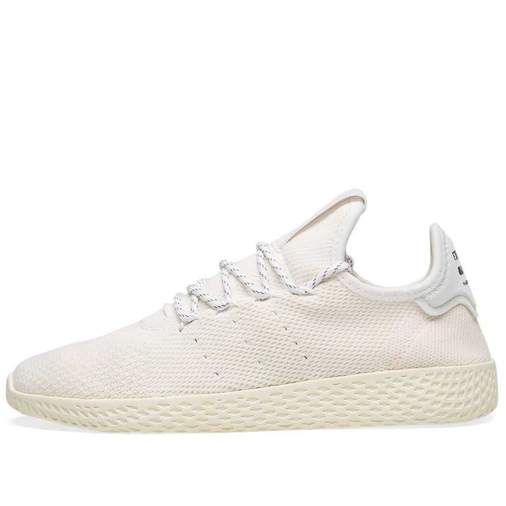 454419743 Adidas x Pharrell Williams Hu Tennis Hu  Blank Canvas  Cream   White ...
