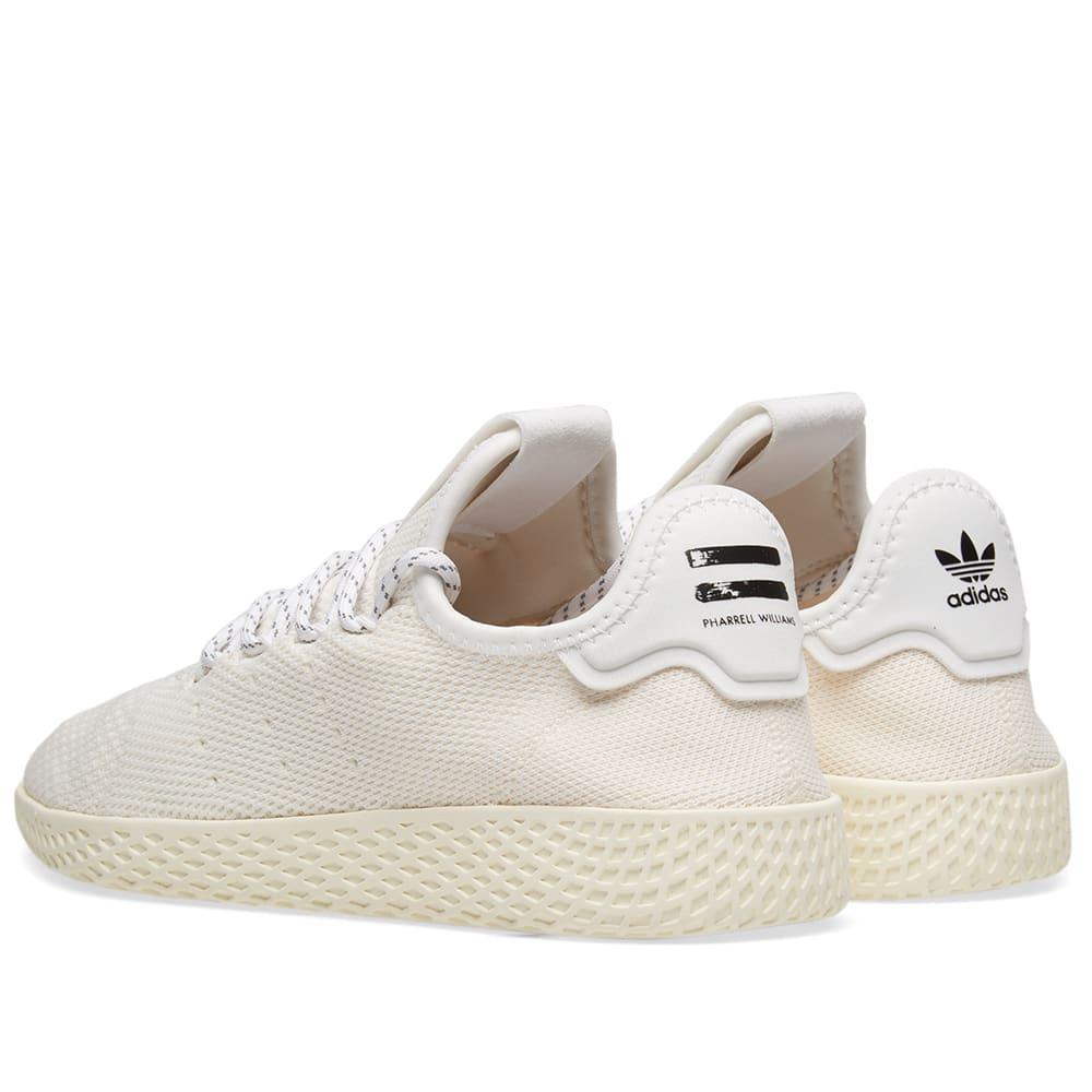 62afdb7dc9307 Adidas x Pharrell Williams Hu Tennis Hu  Blank Canvas  Cream   White ...