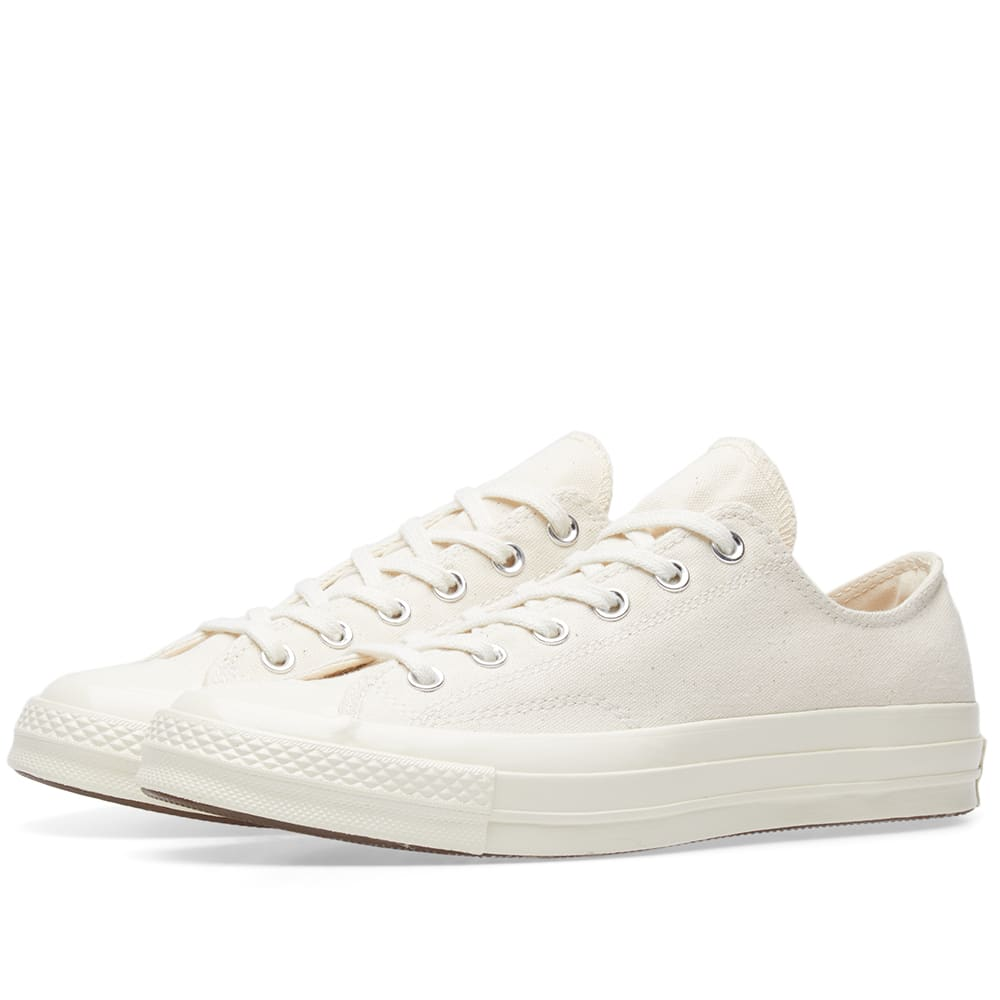 outlet store 8e5a0 475b3 Converse Chuck Taylor 1970s Ox Vintage Canvas Natural   Egret   END.