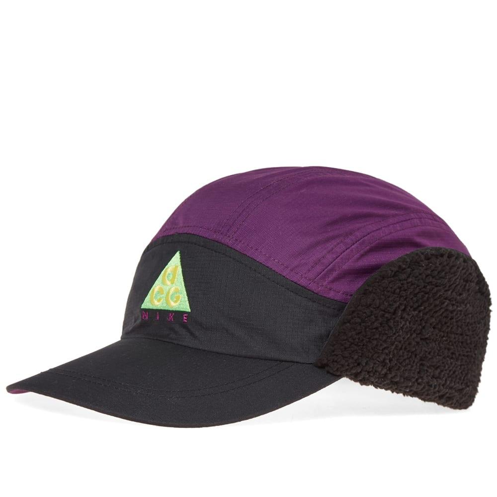 4c8d2ec4667 Nike ACG NSW Tailwind Cap Black   Night Purple