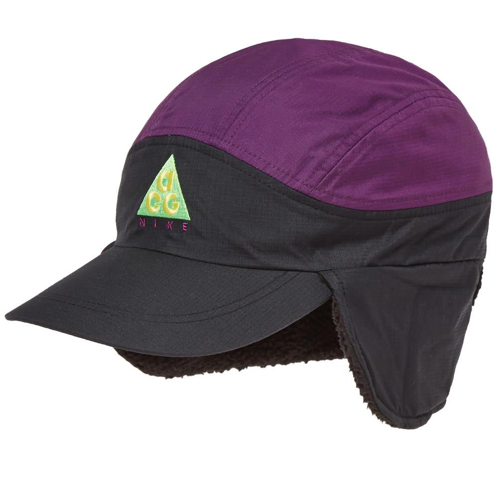 570a204c70f Nike ACG NSW Tailwind Cap Black   Night Purple