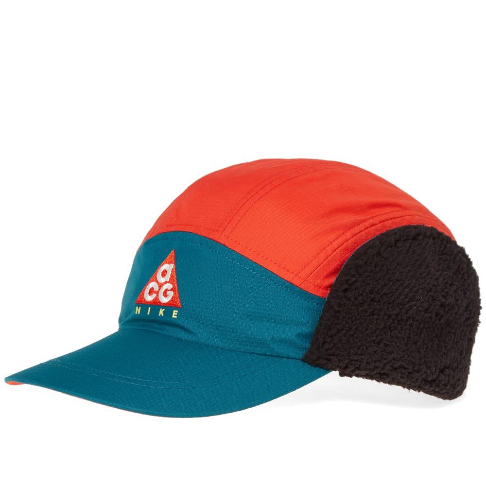 458f46e9675 Nike ACG NSW Tailwind Cap Geode Teal   Habanero Red