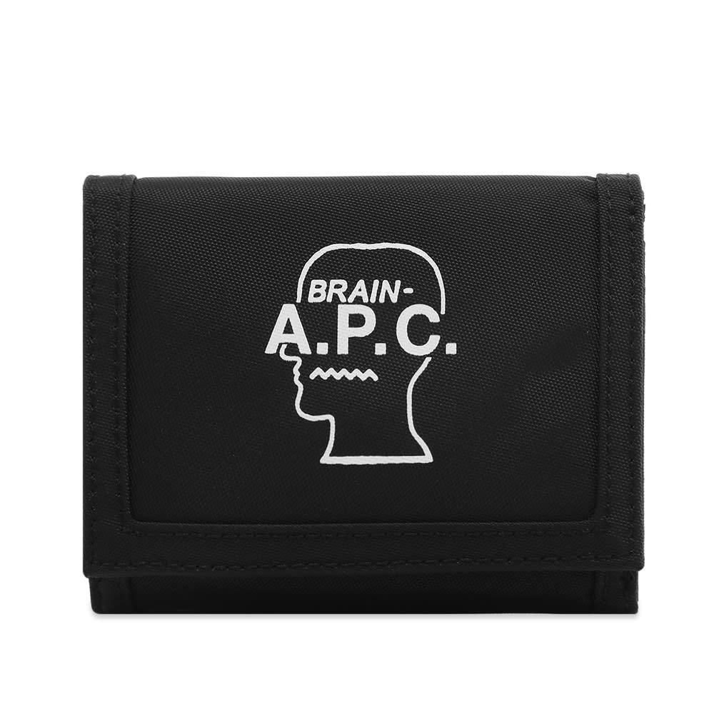 A.P.C. x Brain Dead Wallet