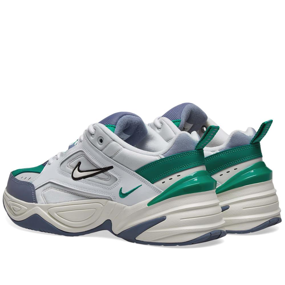 Pila de ética Previsión  Nike M2K Tekno Platinum Tint, Sail & Green | END.