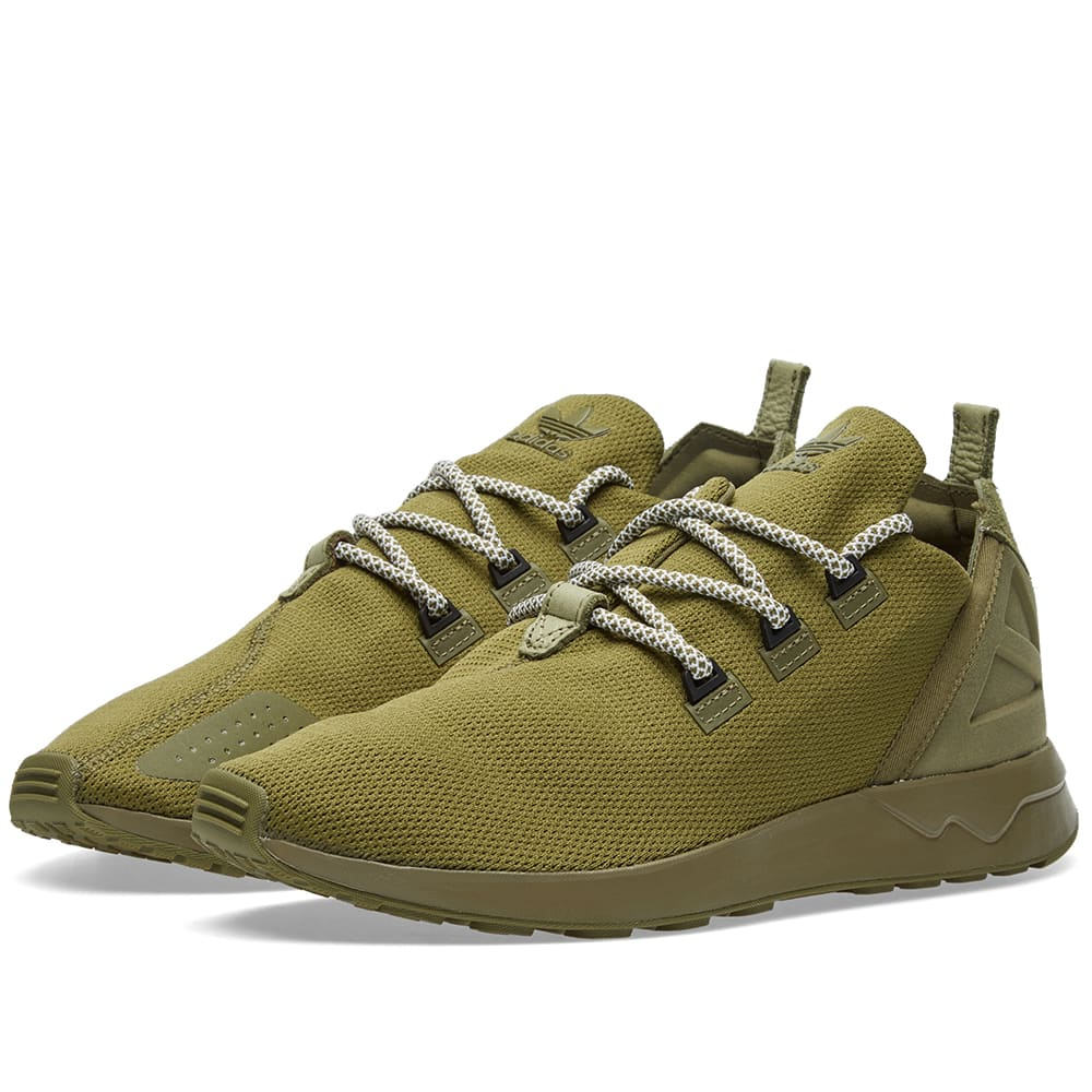 the best attitude f1560 5f00b Adidas ZX Flux ADV X Olive Cargo   Black   END.