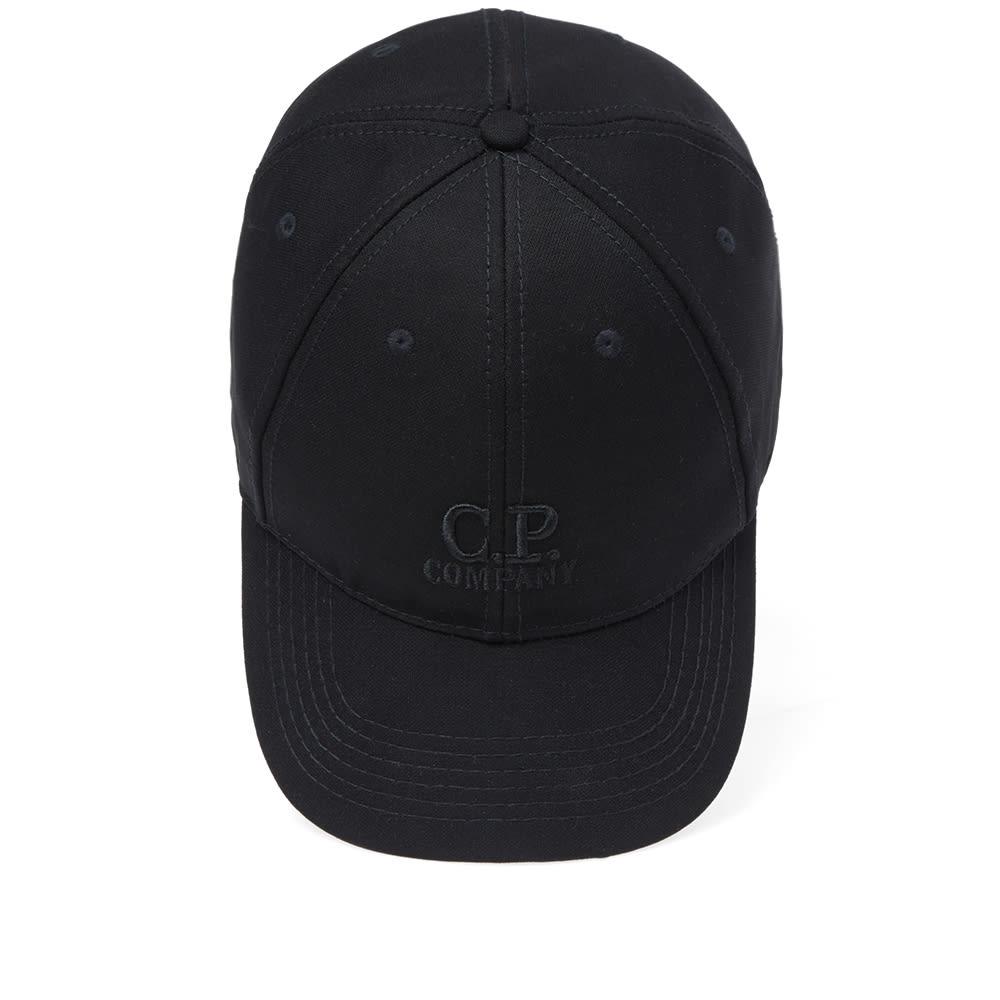 03183e3d4a5 C.P. Company Softshell Logo Cap Caviar