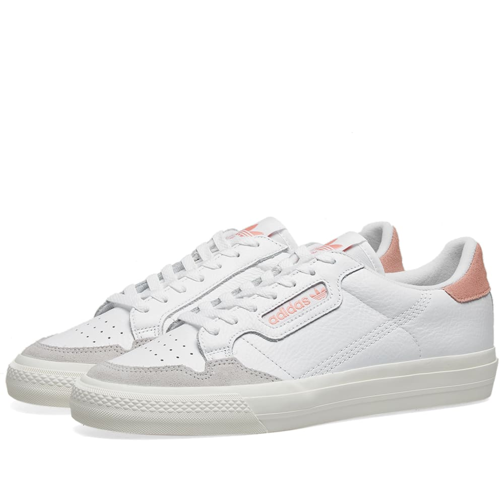 Adidas Continental 80 Vulc White \u0026 Pink