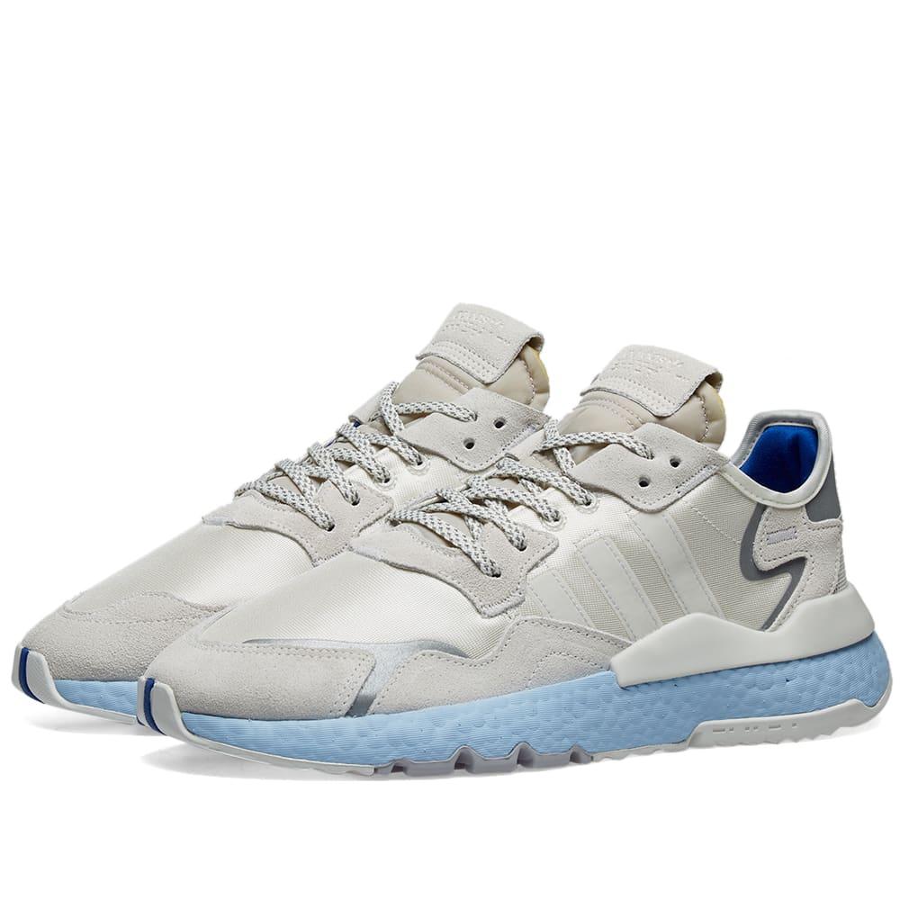 Adidas Originals Adidas Nite Jogger W In Blue Modesens