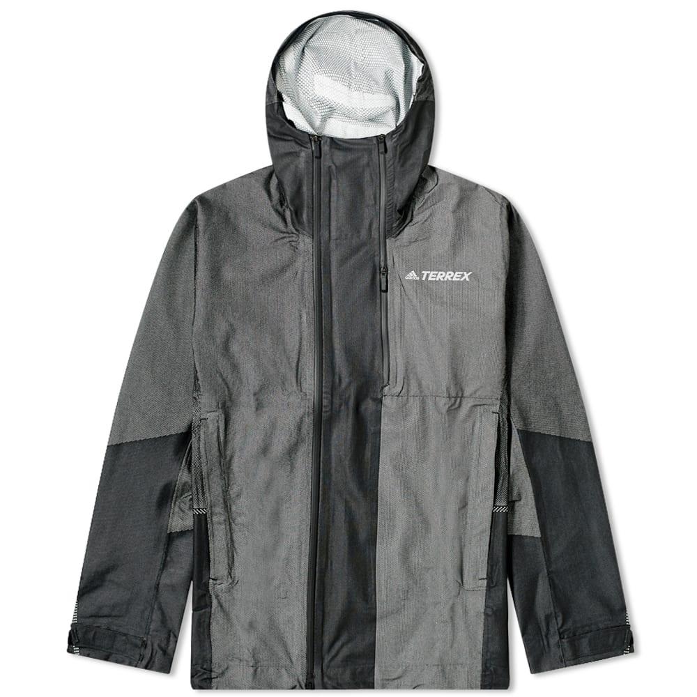 Kith x Adidas Terrex Shell Jacket White