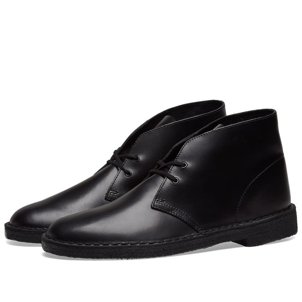 Clarks Originals Desert Boot In Black