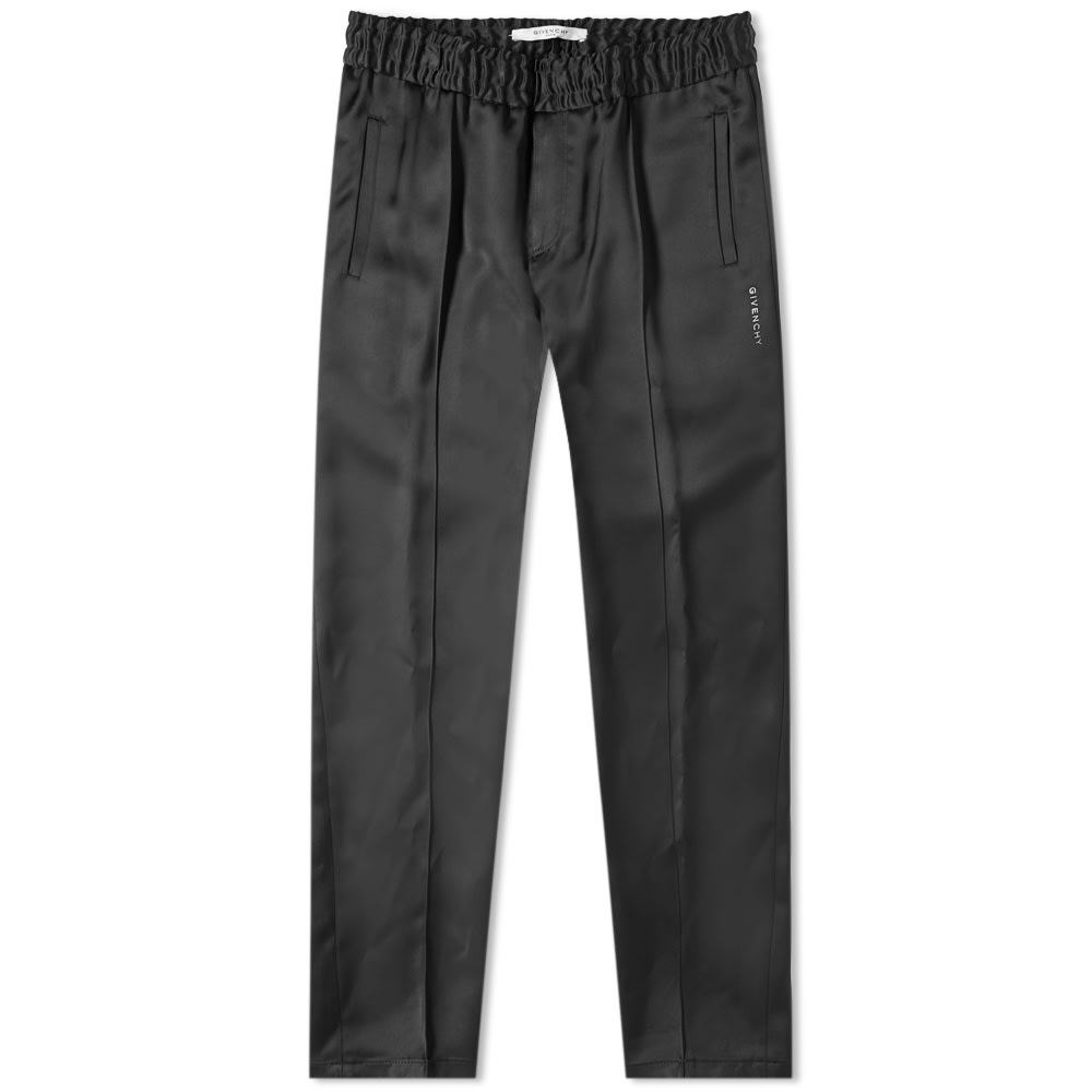 Givenchy Embroidered Logo Formal Jogging Pant In Black