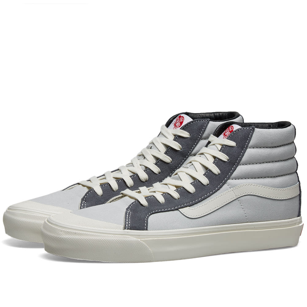Vans Grey Og Style 138 Lx Sneakers In Prl Gry