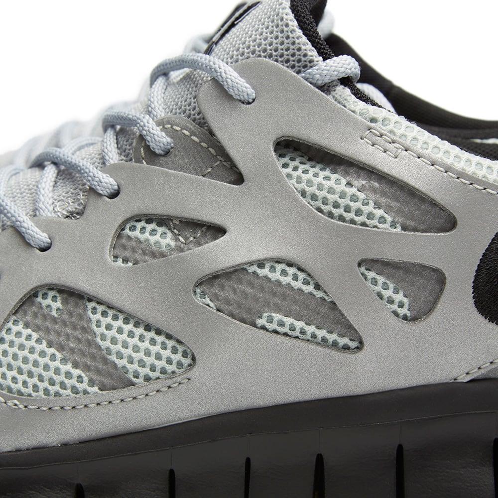 newest 68d17 6ded3 Nike Free Run 2 Metallic Silver   Black   END.