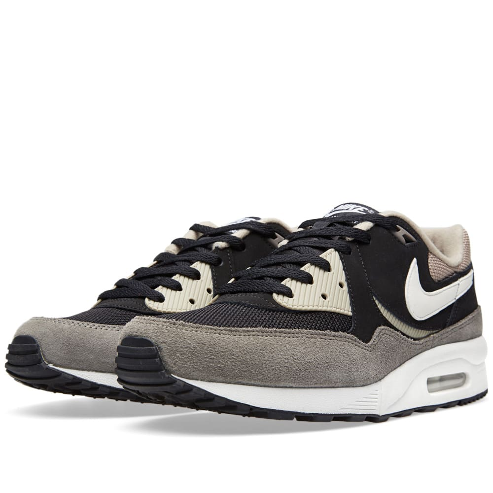 nike air max light essential black white flat pewter. Black Bedroom Furniture Sets. Home Design Ideas