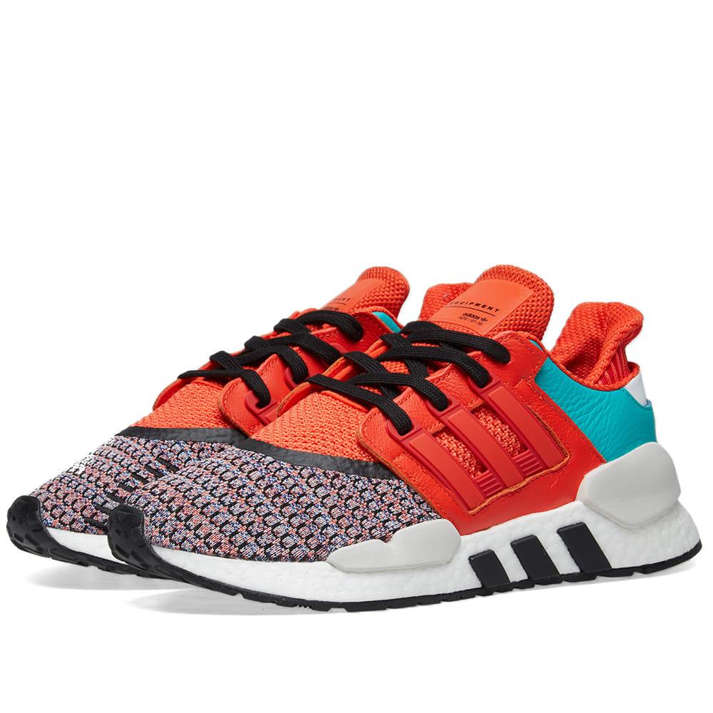 separation shoes 2c0f4 013a9 Adidas Energy EQT Support 91 18 Bold Orange, White   Black   END.