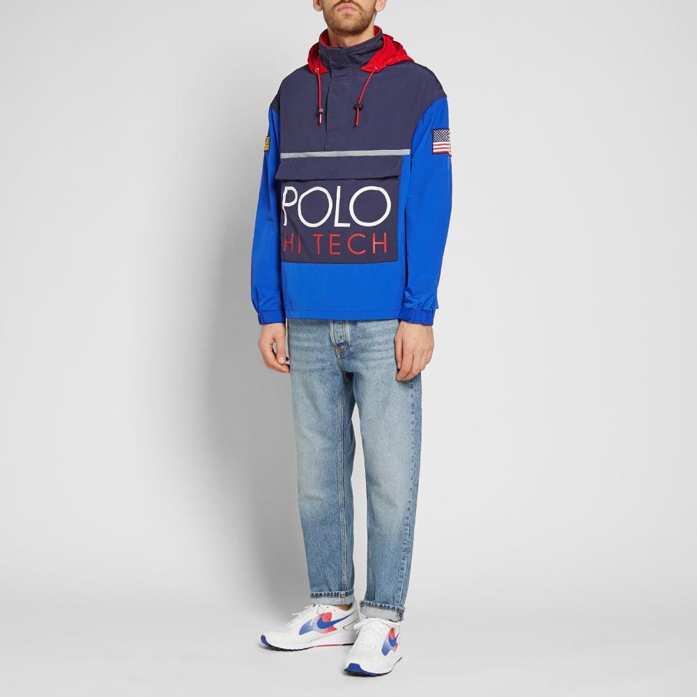 67319b41025eeb Polo Ralph Lauren Hi-Tech Colour Block Pullover Jacket Bright Royal ...