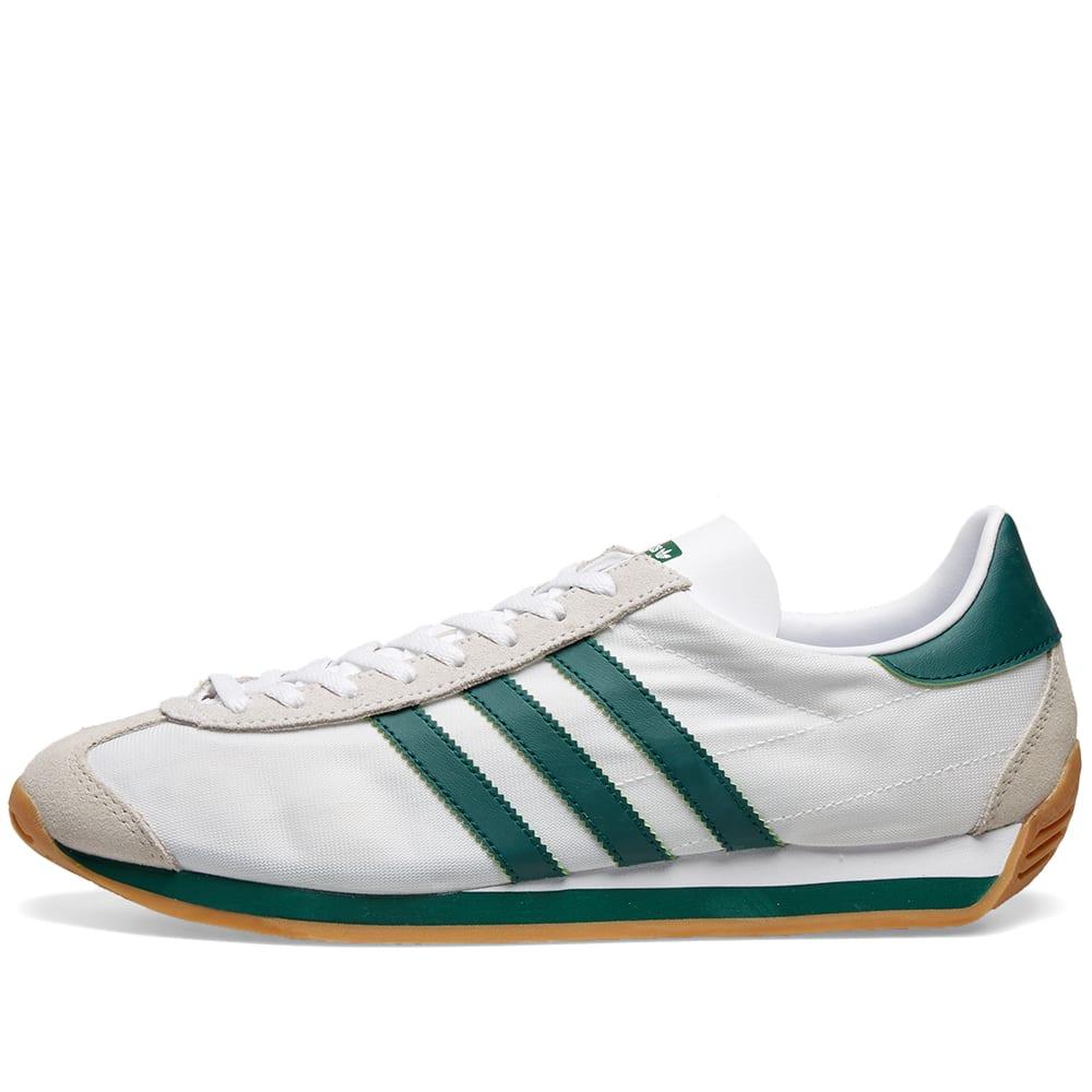 Adidas Country OG White, Green \u0026 Brown
