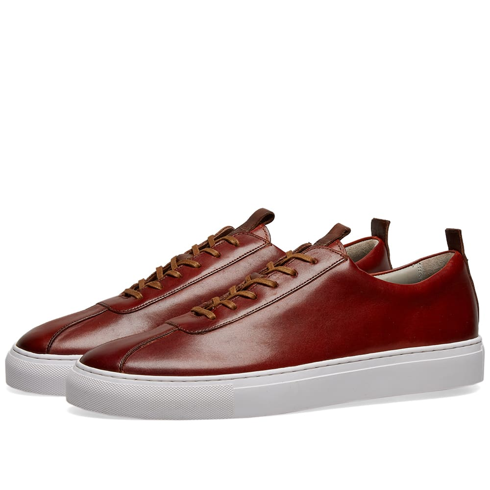 Grenson Sneaker 1 Tan Hand Painted   END.