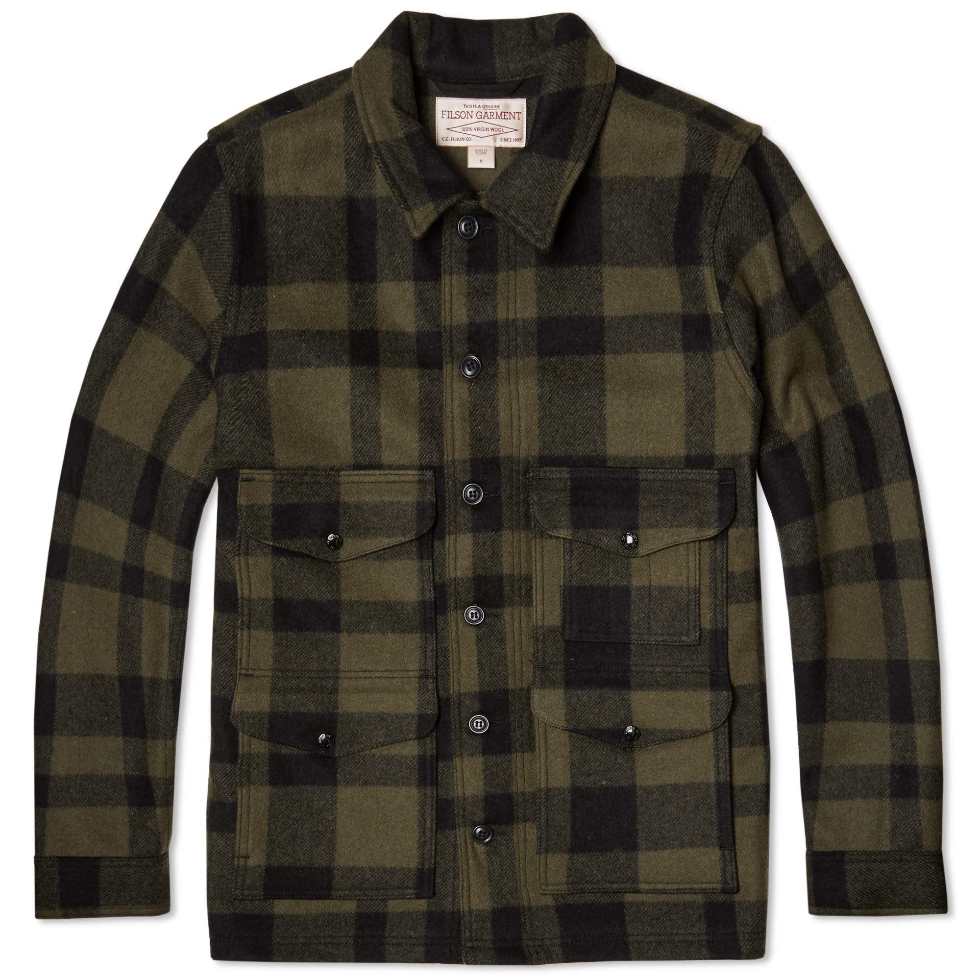 Filson single mackinaw cruiser