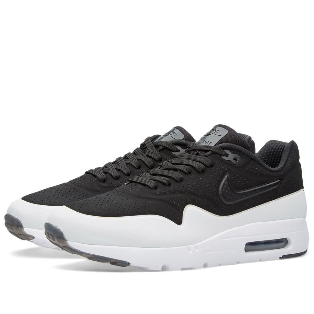 sports shoes b6330 b289f Nike Air Max 1 Ultra Moire Black   White   END.