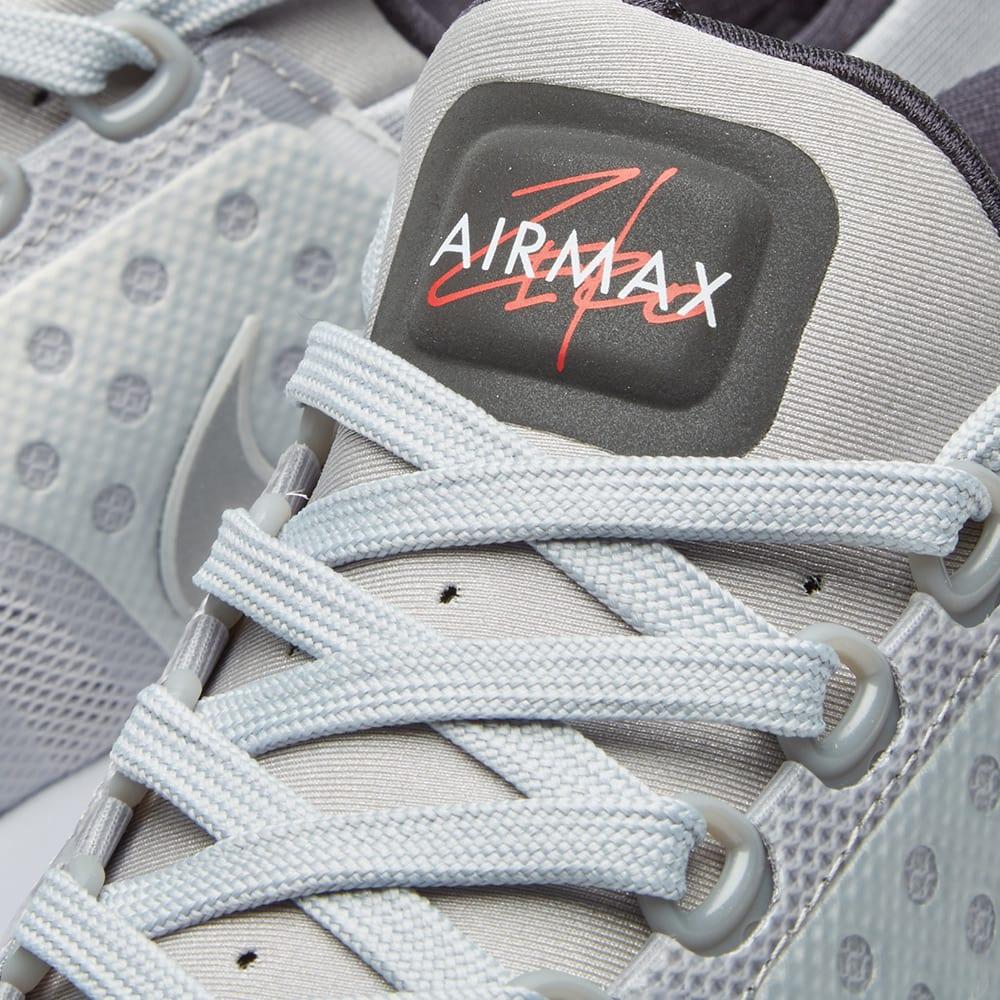 ce3a4185de0bb Nike Air Max Zero QS Silver & University Red | END.
