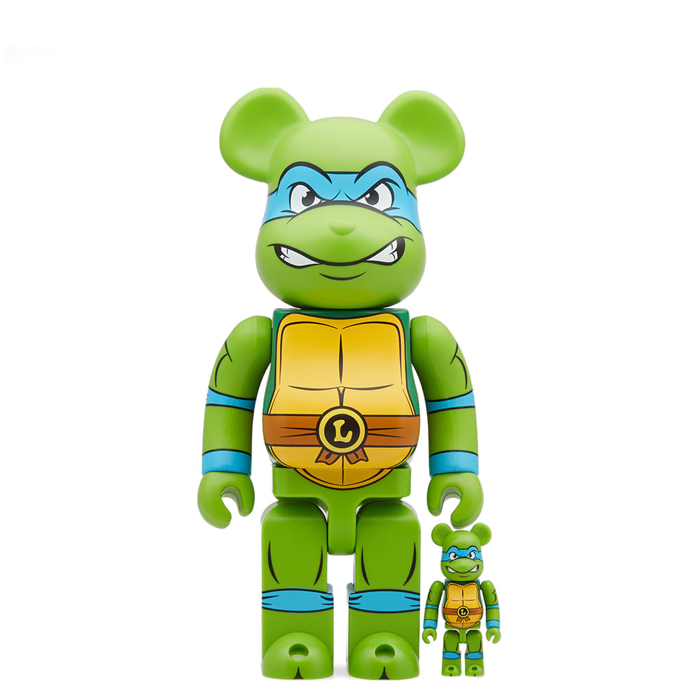 Medicom  MEDICOM X TEENAGE MUTANT NINJA TURTLES LEONARDO BE@RBRICK SET