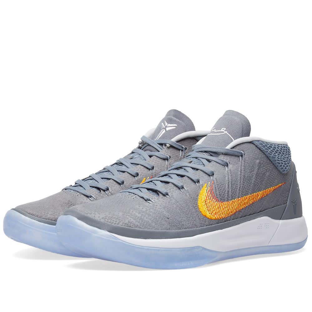 4ab5a997cb02 Nike Kobe A.D. 1 Chrome   Habanero