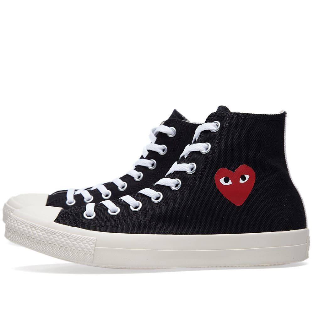 cc34517da745 Comme des Garcons Play x Converse All Star Hi (Black  amp  ...