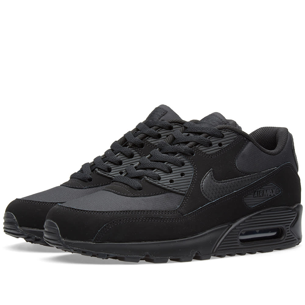 nike air max 90 essential black black. Black Bedroom Furniture Sets. Home Design Ideas