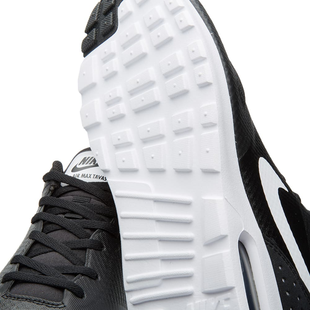 301551192ef Nike Air Max Tavas Black   White