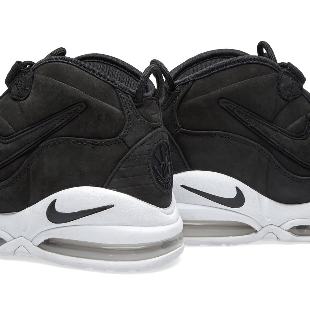 release date 8f734 d76a5 Nike Air Max Uptempo Black   White   END.