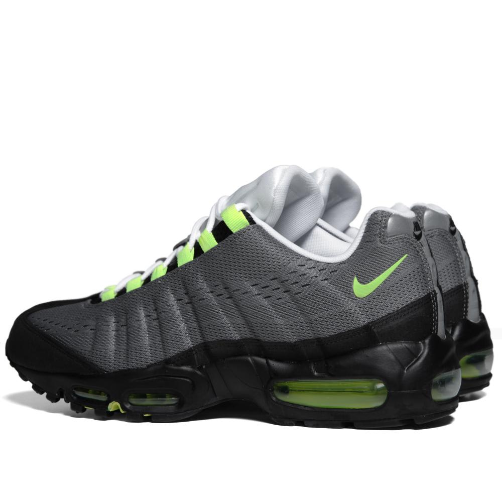 finest selection 1f254 0e7d3 Nike Air Max 95 EM Cool Grey   Volt   END.
