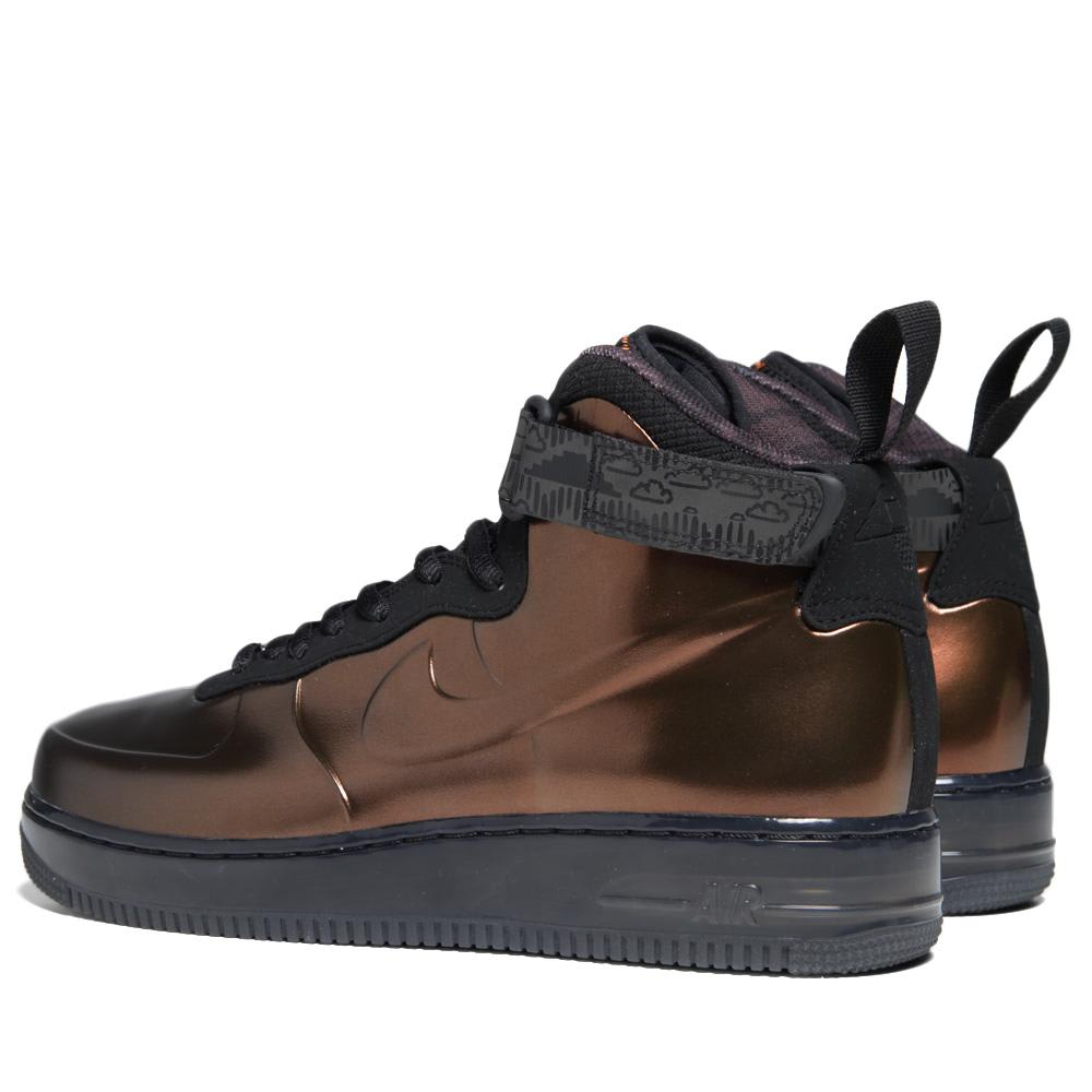 new style 9811d a7971 Nike Air Force 1 Foamposite Black History Month QS Metallic Copper   END.