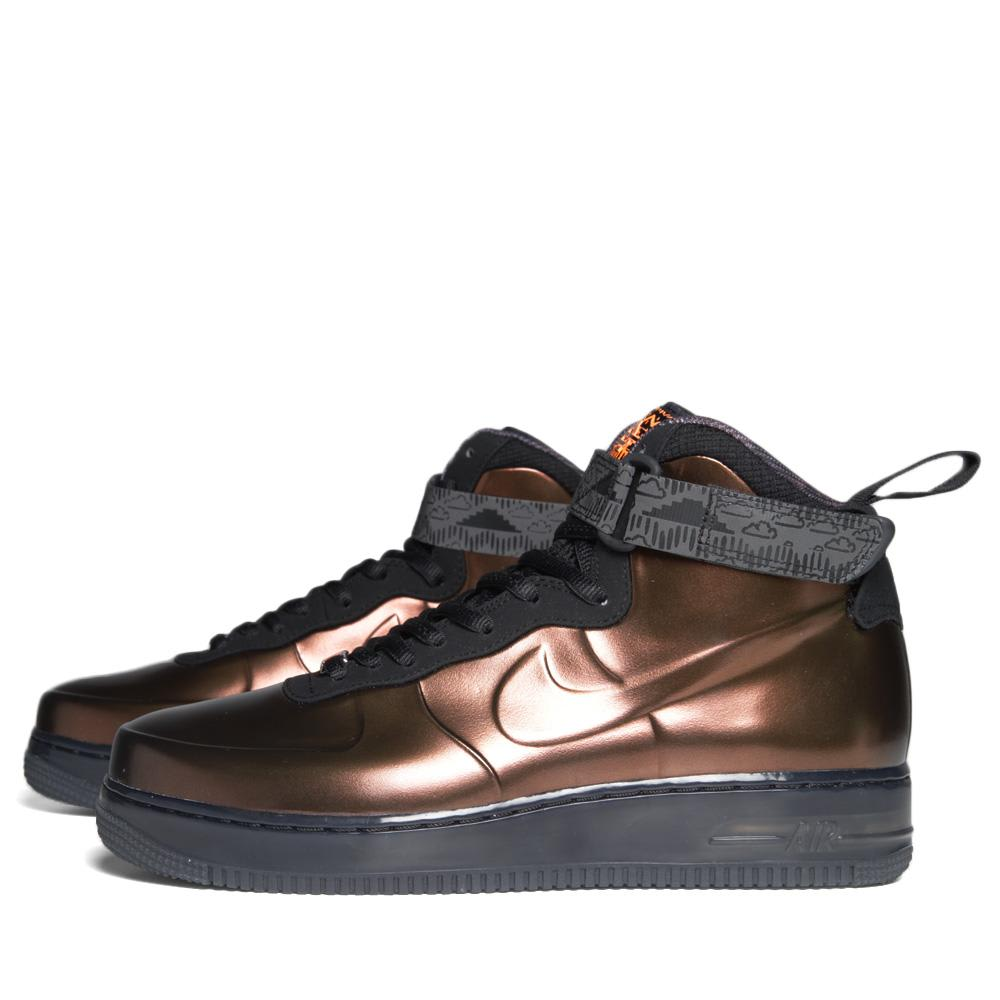best cheap 838eb 24f0c Nike Air Force 1 Foamposite Black History Month QS