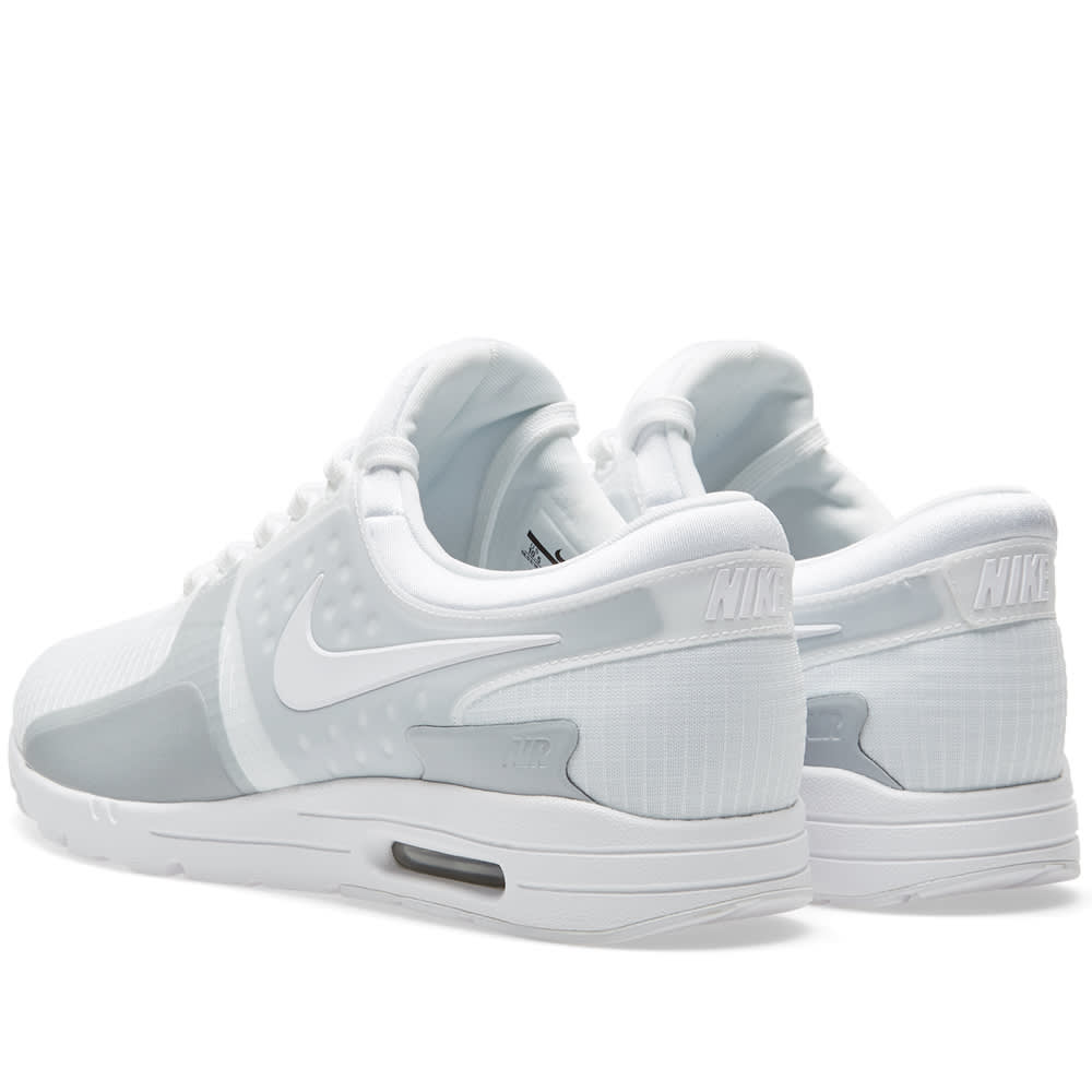 nike air max zero white wolf grey si billig