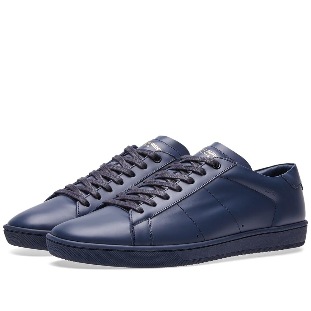 2cef37c5fa1 Saint Laurent SL-01 Sneaker Indigo | END.