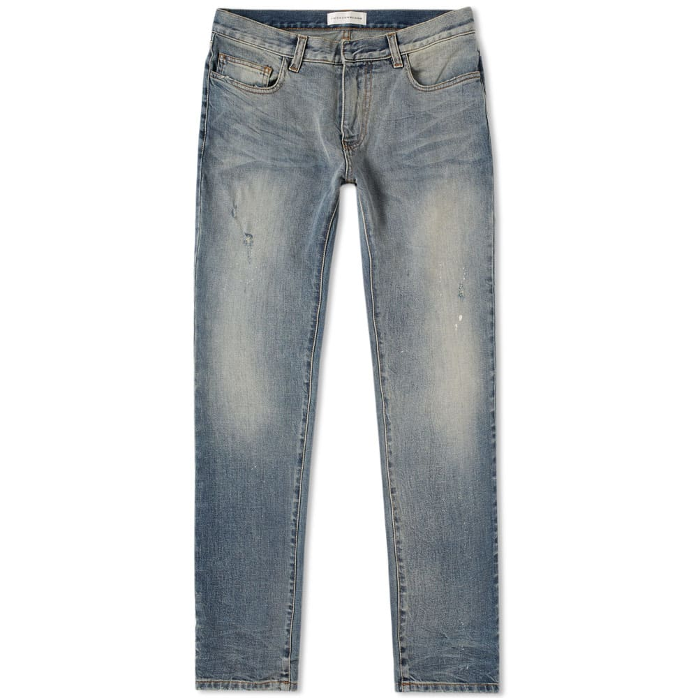 distressed slim fit jeans - Blue Closed