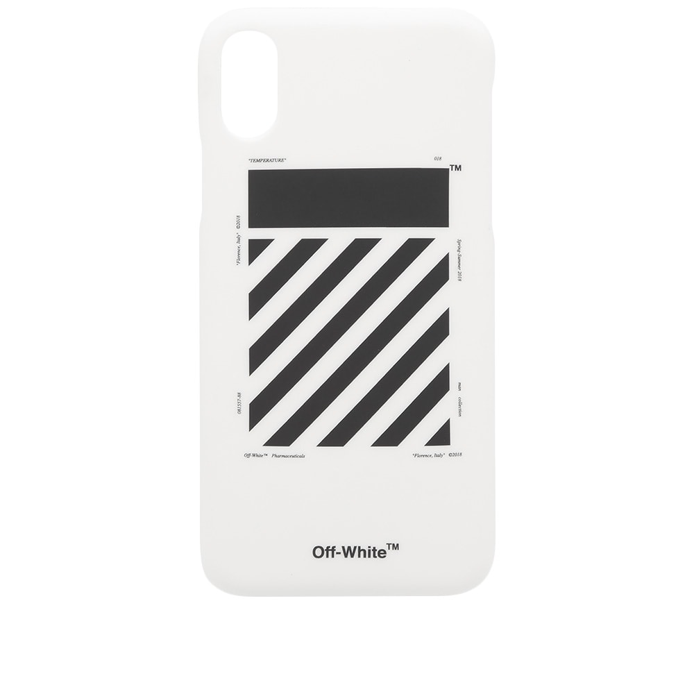 another chance b8d20 5a733 Off-White Diagonal iPhone X Case
