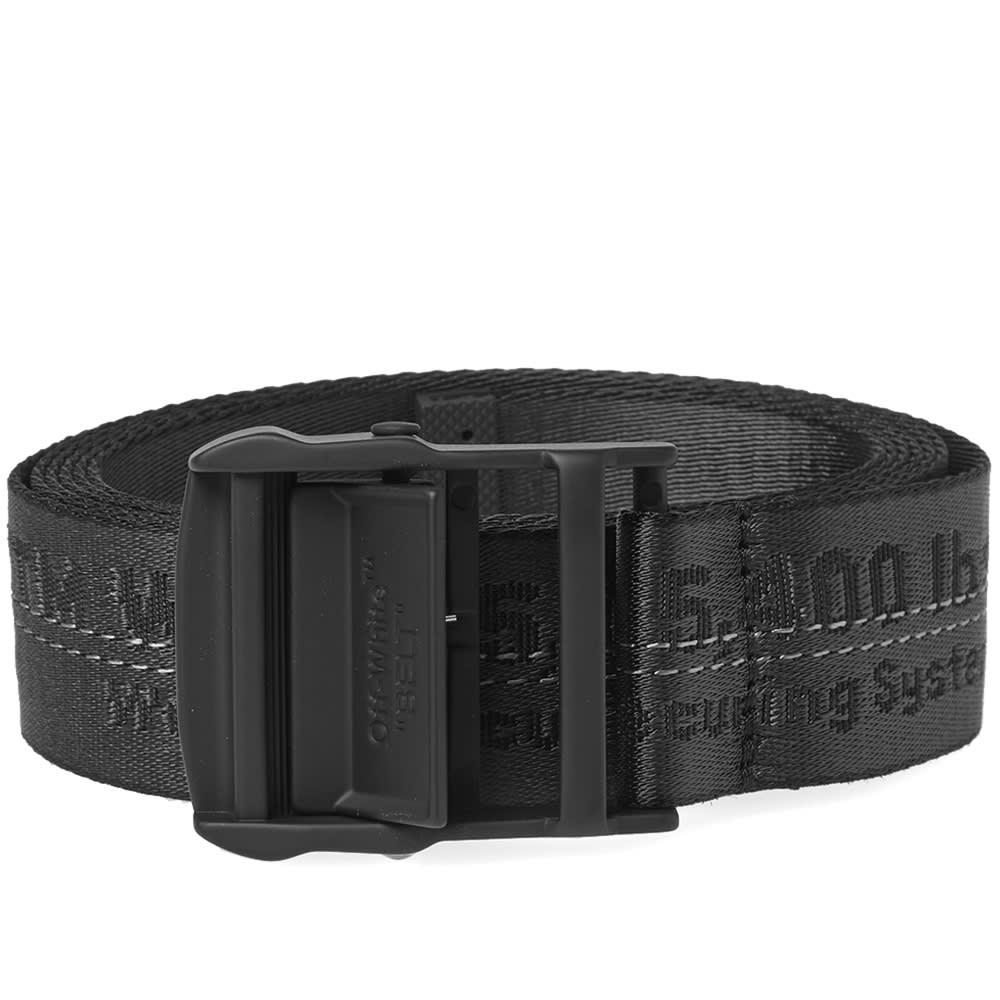 b7d8897760ab Off-White Industrial Belt Black