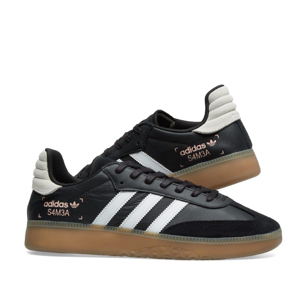 5b8698fdf07 Adidas Samba RM Core Black
