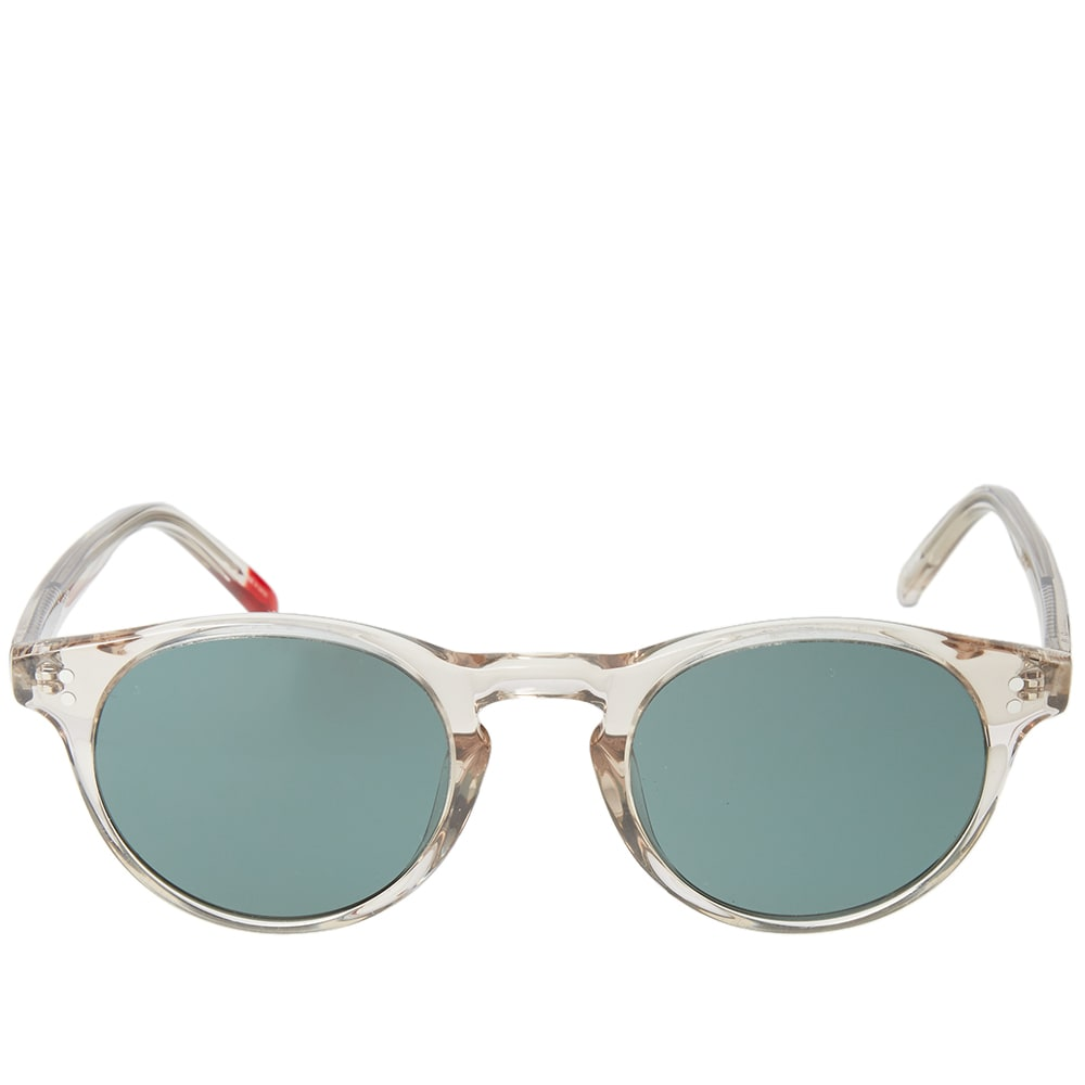 b021cbfb313f Oliver Spencer Sid Sunglasses Putty | END.