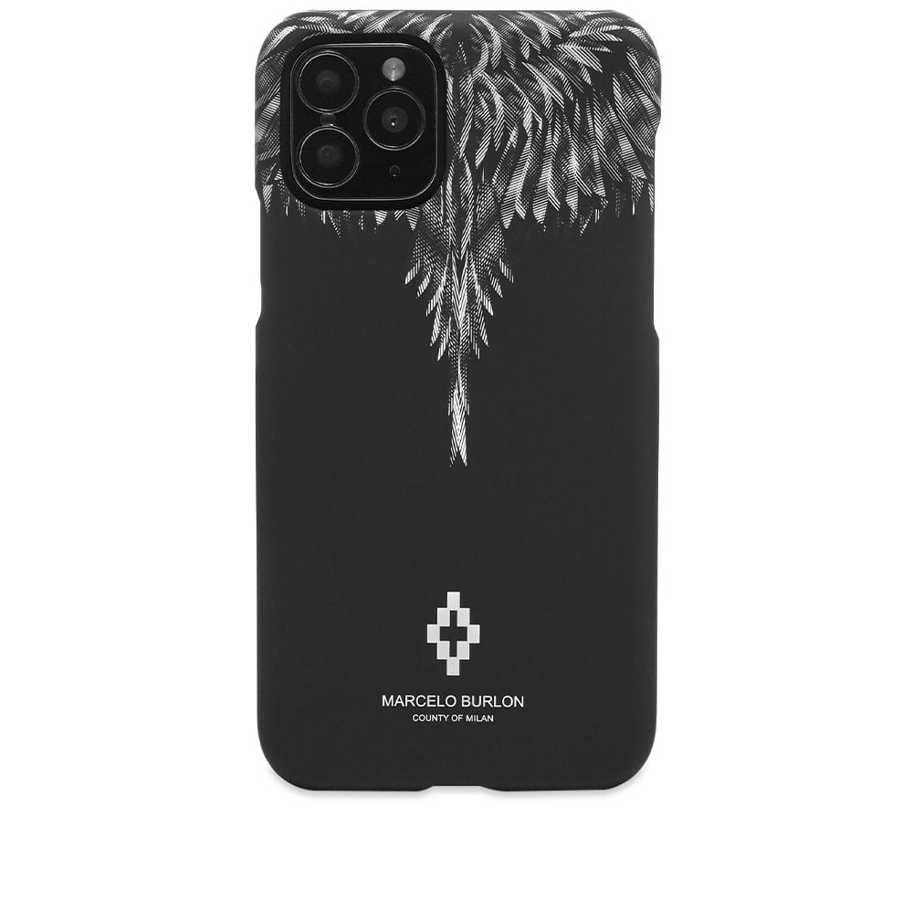 Marcelo Burlon County Of Milan Marcelo Burlon Sharp Wings iPhone 11 Pro Case