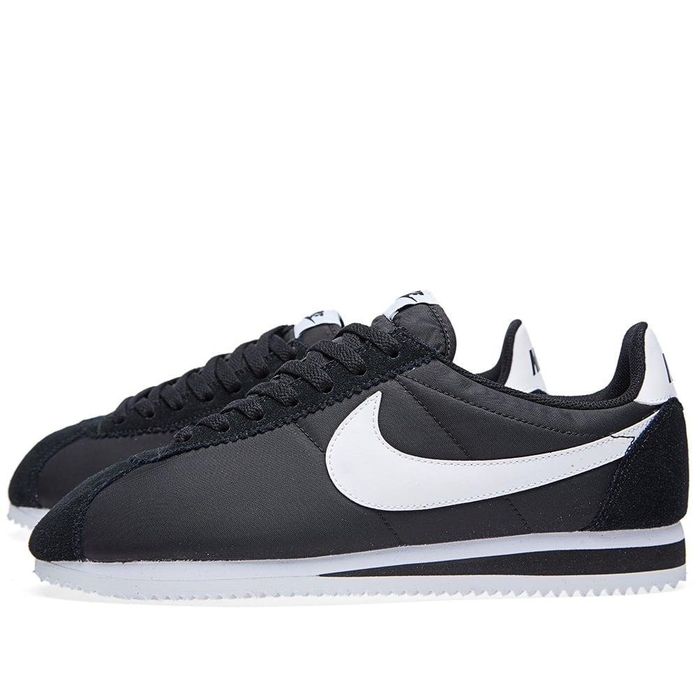 Nike Classic Cortez Black Amp White
