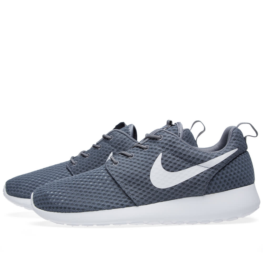c330cf957f55 Nike Roshe Run BR Cool Grey   White