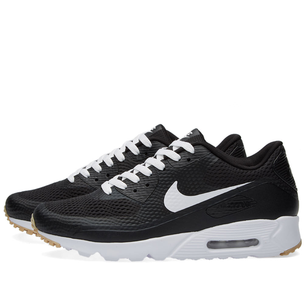 d477da77b3 Nike Air Max 90 Ultra Essential Black & White | END.
