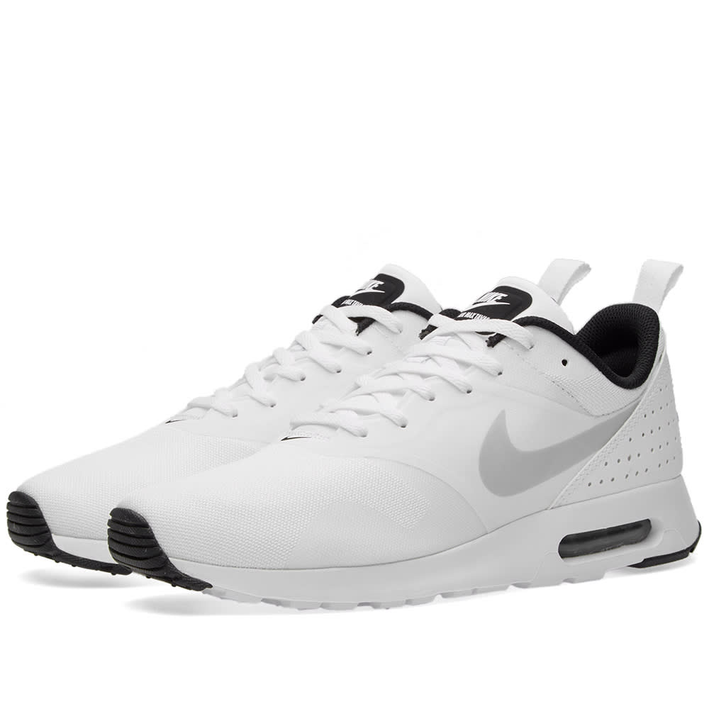 meet d9cce eab83 Nike Air Max Tavas White, Pure Platinum   Black   END.