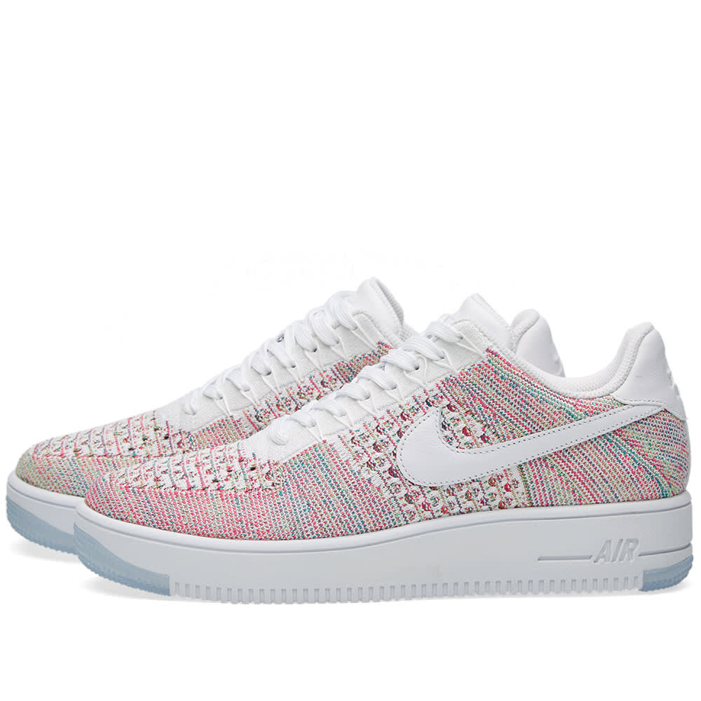 new products 512cf 88942 Nike W Air Force 1 Flyknit Low White   Radiant Emerald   END.