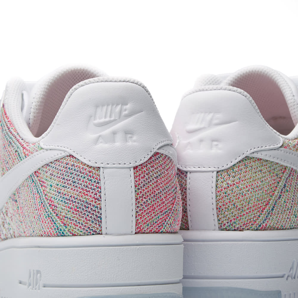 new products 653c2 ac913 Nike W Air Force 1 Flyknit Low White   Radiant Emerald   END.